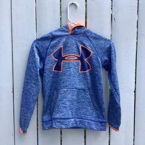 Youth Medium Neon Under Armour Hoodie Sweater